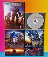 Transformers 1, Beginnings, Revenge of Fallen, Dark of the Moon - Movie DVD Lot
