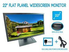 """Dell E2210 22"""" TFT LCD Widescreen Monitor 1680x1050 60HZ 16:10 VGA DVI"""