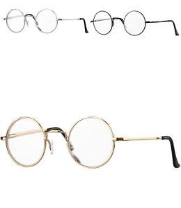 Retro Lesebrille rund Damen Herren Lennon Nickelbrille Vintage Lesehilfe 815ML