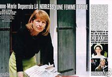 Coupure de Presse Clipping 1997 (4 pages) Anne Marie Deperrois