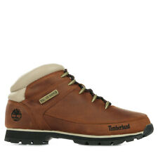 Chaussures Boots Timberland homme Euro Sprint Mid Hiker taille Marron Cuir