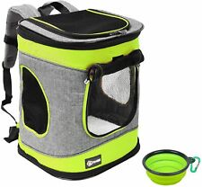 Cat Carrier Backpack Foldable Pet Carrier Backpack for Small Dogs Puppy Rucksack