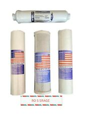 Ro 5 Stage.Replacement Set Reverse Osmosis 5 Stage.(4 filters)Stage1,2,3,5