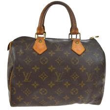 LOUIS VUITTON SPEEDY 25 HAND BAG PURSE MONOGRAM CANVAS M41528 bt 33088