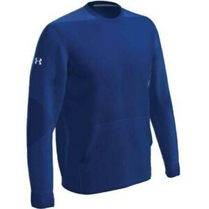 Under Armour Men's CTG Warm-Up Layering Crew Pullover ROYAL 2XL