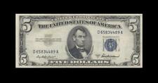 1953-A UNITED STATES **SILVER CERTIFICATE** $5 (( aUNC ))