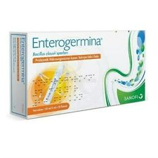 Enterogermina (20 VIALS) Bacillus Clausii Probiotic 4 Billion CFU/5mL FOR ADULTS