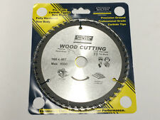 160mm x 20mm BORE x 48 TOOTH TCT PRO CIRCULAR SAW BLADE FOR WOOD