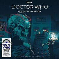 DOCTOR WHO - DESTINY OF THE DALEKS 2019 RSD UK 2 180 GRAM LP SPLATTER VINYL NEW