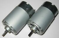 2 X Mabuchi 555 12V DC Motor - Printer / Portable Drill / Robotics Hobby Motors