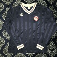 Vintage 80s Umbro Soccer Shirt Cornwall Lebanon Size XL USA Made