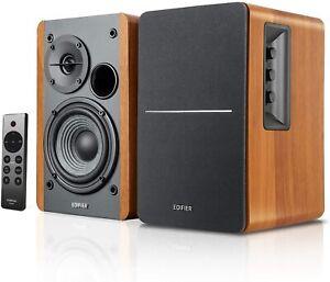 Edifier R1280DBs Brown Powered Bluetooth 5.0 WirelessDesktop/Bookshelf Speakers