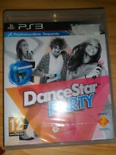 DanceStar Party PS3 Nuevo Precintado Dance Star 20 jugadores Baila PAL España,