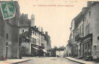 VERDUN-SUR-LE-DOUBS - rue de la république