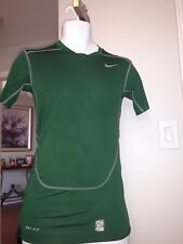 NIKE PRO COMBAT DRI FIT Compression T-Shirt competition base layer S green