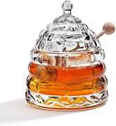 Beehive Crystal Honey Jar