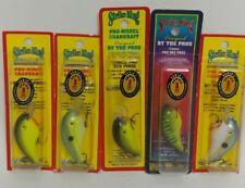 (5) Strike King Pro Series 1 Crankbaits, Lot of 5 Fishing Lures