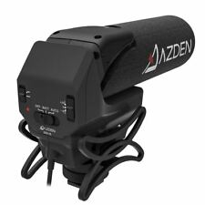 Azden SMX-15 Powered Shotgun Video Microphone for Canon DSLR Cameras