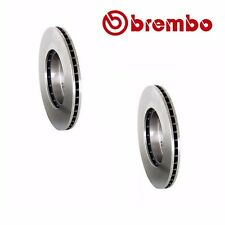 2 Front Element Disc Brake Rotor Fits Honda Accord CR-V Civic Brembo 45251S87A00