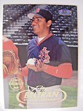 RIGO BELTRAN signed RC CARDINALS 1998 Fleer Tradition baseball card AUTO Mexico