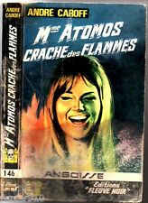 ANGOISSE n°146 # ANDRE CAROFF # MME ATOMOS CRACHE FLAMMES # EO 1967 fleuve noir
