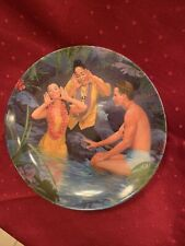 """1987 """"Happy Talk� South Pacific Knowles Collector Plate"""