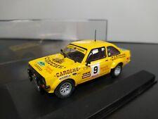 1/43 IXO Transkit Ford Escort MKII Balcázar Rally Montseny Guilleries 1980