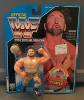 Vintage 1994 Hasbro Bushwhacker BUTCH Series 10 WWF WWE Wrestling NEW Sealed MOC