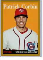 Patrick Corbin 2019 Topps Archives 5x7 Gold #2 /10 Nationals