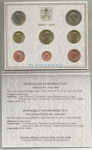 MONETE VATICANO VATICAN CENT E EURO ANNO 2009 UNC SCEGLI QUELLE CHE TI SERVONO