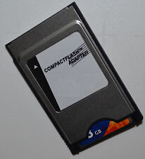 32 GB Compact Flash Speicherkarte + PCMCIA Adapter für Mercedes Comand APS