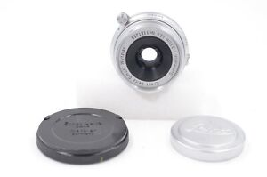 Leitz Summaron 35mm F3.5 lens in M mount, 39mm front