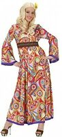 Ladies Hippie Woman Costume Medium UK 10-12 For 60s 70s Hippy Fancy Dress