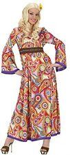 Ladies Hippie Woman Costume Medium UK 10-12 For 60s 70s Hippy Fancy Dress