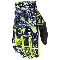 ONeal Matrix Kinder Handschuhe Attack Neon Gelb MX MTB Moto Cross Kids Jugend