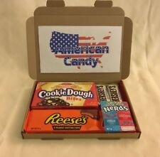 American sweets gift box - USA candy hamper gift - nerds - Reeses - Hershey's