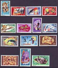 Nigeria 1965 SC 184-197 MH Set Wildlife
