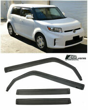 For 08-15 Scion xB IN-CHANNEL Style Smoke Tinted Side Window Rain Guard Visors