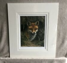 More details for limited edition fox print