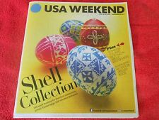 USA WEEKEND MAGAZINE APRIL 2014 HUNTING FOR ARTISTIC EASTER EGGS RECIPE