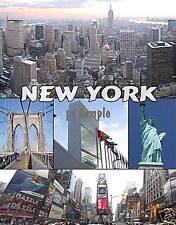 NEW YORK CITY collage #3 - Souvenir Flexible Fridge Magnet