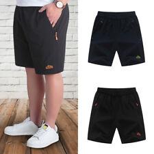 Men Summer Gym Sports Shorts Casual Sweatpants Workout Short Pant Plus Size 67UK