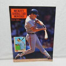 CAL RIPKEN COVER BECKETT BASEBALL CARD PRICE GUIDE MAY 1991 ISSUE #74 (#5,10)