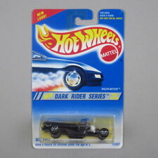 Hot Wheels RIGOR MOTOR #300 / 1995 Dark Rider Series NM Card *7-Spoke Wheels*