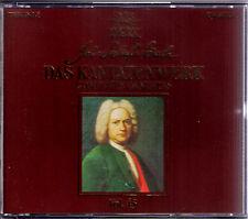 HARNONCOURT BACH V.45 Cantata BWV 196-9 Leonhardt Rene Jacobs Thomas Hampson 2CD