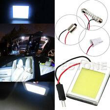 T10 6W DC 12V COB LED Lamp Light Aluminum Dome Festoon Car Interiore Plate