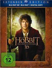 El Hobbit : Un viaje inesperado EXTENDIDA blu-ray  3D con audio castellano.