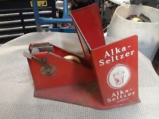 Vintage Alka-Seltzer Tin Store Display and Tape Dispenser # 180834