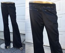 New without tags Divided by H&M Black Low Waist Wide Leg Pants Size 8