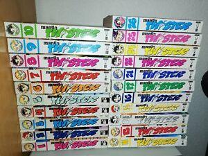 21 Bände Manga Twister - Shonen - Shojo  (2003 - 2006)